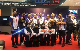 3 Gold medal di KKIP 2019