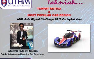 UTHM Johan ICDL Asia Digital Challenge 2019
