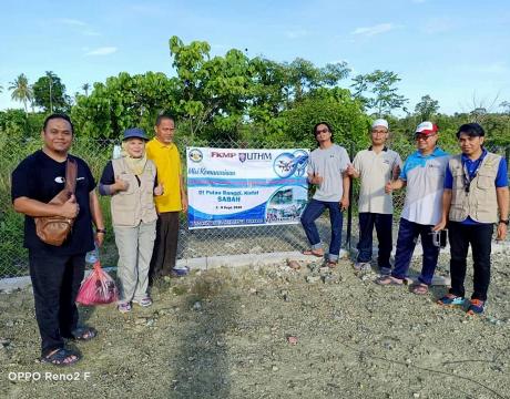 FKMP ke Pulau Bangi, Kudat, Sabah