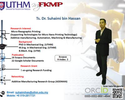 Ts. Dr. Suhaimi Bin Hassan