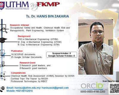 Ts. Dr. Hanis Bin Zakaria