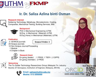 Ir. Dr. Saliza Azlina binti Osman