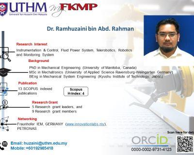 Dr. Ramhuzaini bin Abd. Rahman