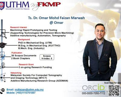 Ts. Dr. Omar Mohd Faizan bin Marwah @ Omar