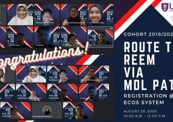 COHORT 2019/2020| ROUTE TO REEM VIA MDL PATH