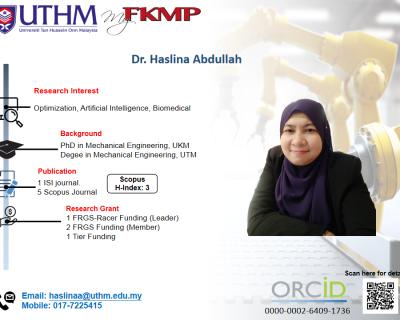 Dr. Haslina Abdullah