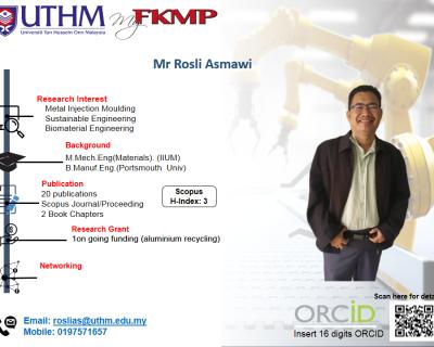 Mr. Rosli Asmawi