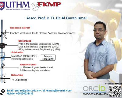 Prof. Madya Ir. Ts. Dr. Al Emran bin Ismail