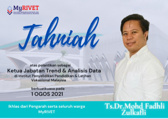 Tahniah kepada Ts. Dr. Mohd. Fadhli Zulkafli