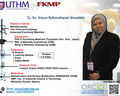 Ts. Dr. Ainun Rahmahwati Ainuddin