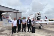 Menteri Besar Johor ke Asia Aeronautical Training Academy (AATA) UTHM