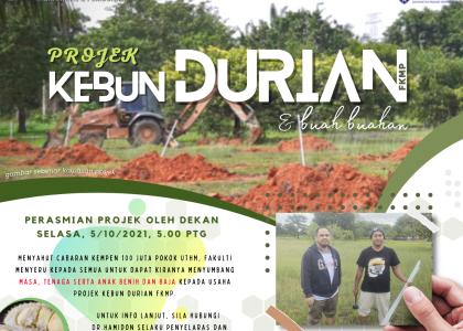 Inisiatif Kebun Durian dan Buah-buahan FKMP